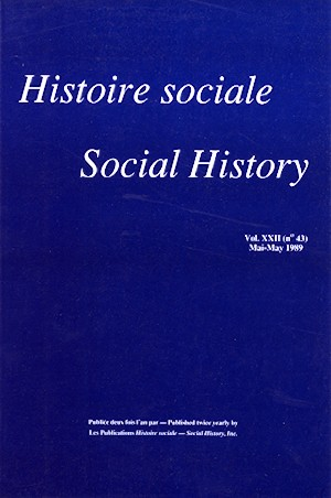 View Vol. 22 No. 43 (1989)