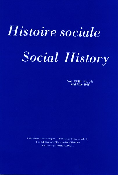 View Vol. 18 No. 35 (1985)