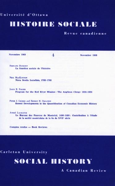 View Vol. 2 No. 4 (1969)