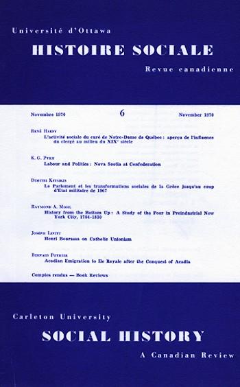 View Vol. 3 No. 6 (1970)