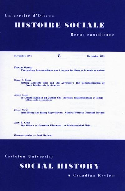 View Vol. 4 No. 8 (1971)